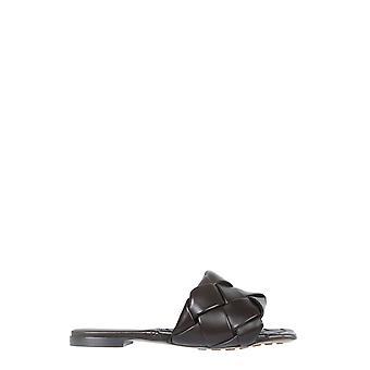 Bottega Veneta 608853vbss02113 Kvinder's Brune læder sandaler