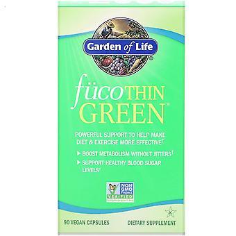 Garden of Life, FucoThin Green, 90 Vegan Capsules