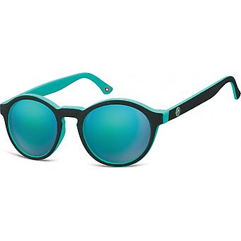 Sonnenbrille Unisex by SGB    schwarz/hellblau (MS100)