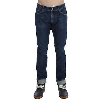 ACHT Blue Wash Cotton Stretch Slim Fit Jeans SIG30449-1