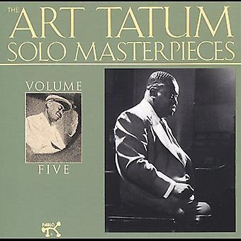 Art Tatum - Art Tatum: Vol. 5-Solo Masterpieces [CD] USA import