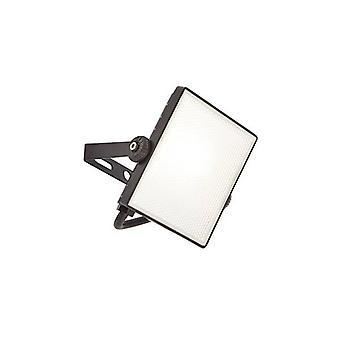 Saxby Scimitar - LED intégré 1 Lumière extérieure Lumière murale texturée Noir, IP65 givré
