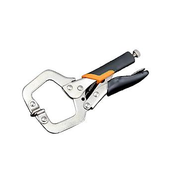 6inch Locking C Clamp with Swivel Pads Quick Clamp Fixed Pliers