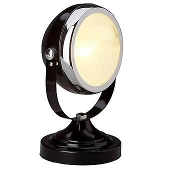 LYSANDE Lampa Rider Bordslampa Svart | 1x D45, E14, 28W, lämplig för drop-lampor (ingår ej) | Skala A++