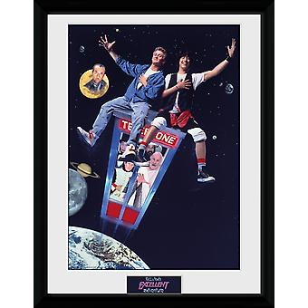 Bill and Ted Excellent Adventure Collector Print
