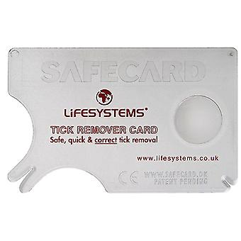 Lifesystems Tick Remover Card - Lifesystems Tick Remover Card