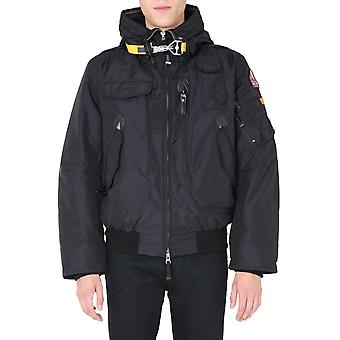 Parajumpers Pmjckmb01p02541 Men's Black Polyester Down Jacket