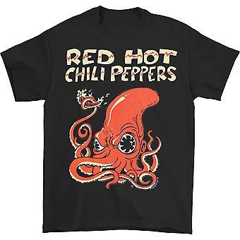 Maglietta Red Hot Chili Peppers Fire Squid