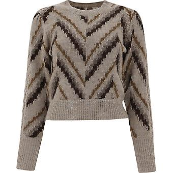 Isabel Marant ÉToile Pu135920a007e50bw Femmes-apos;s Beige Wool Sweater