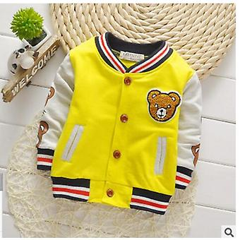 Fashion's Five Movement Zipper Shirt- Spring Kids Outwear Cool Coat Baby Boy