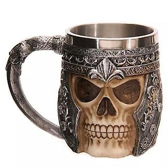 3d Viking Skull -muki