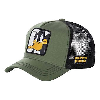 Capslab Looney Tunes Daffy Cap - Khaki / Black