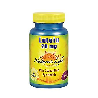 Nature's Life Lutein, 20 mg, 30 softgels