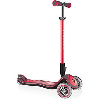 Globber red elite deluxe scooter for children aged 3 to 9 years plus