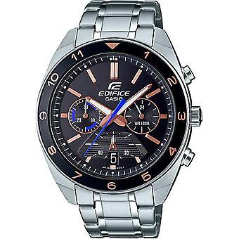 Casio Efv-590d-1avuef Reloj - Multifunción acero acero negro dial