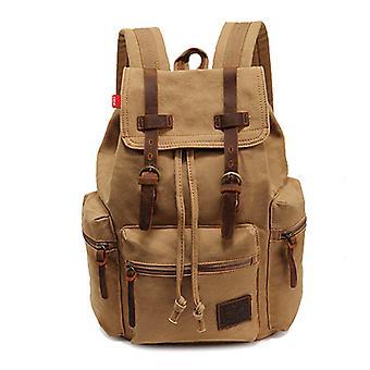 Canvas Laptop Rucksack Backpack