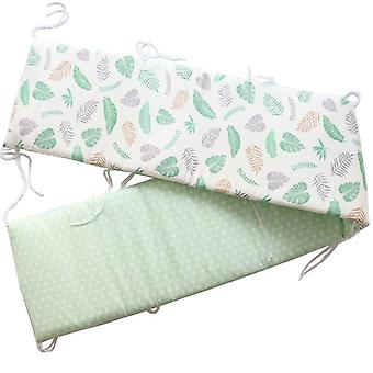 Soft Cotton Bed For Newborns, Detachable Zipper Infant Cot Protector
