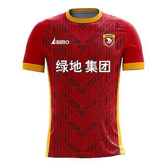 Shanghai SIPG 2020-2021 Home Concept Football Kit (Libero) - Kids