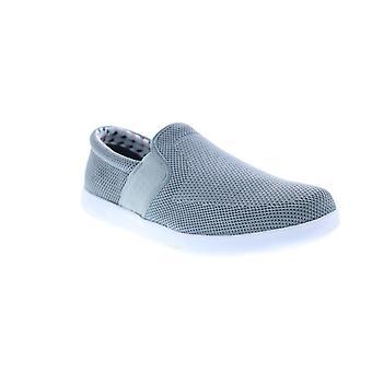 Ben Sherman Parnell Slip On V2 Mens  Gray Mesh Lifestyle Sneakers Shoes