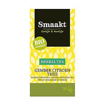 Ginger and Lemon Tea 20 infusion bags