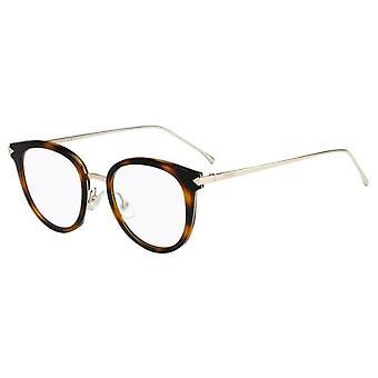 Fendi FF0166 V4Z Havana-Gold Glasses