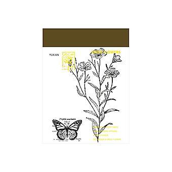 12 Designs Memo Pad, Transparent Notes Loose Leaf Notepad