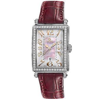 Gevril Women's 7248RV Mini Quartz Avenue of Americas Diamond Watch