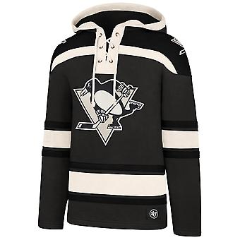 &ampos;47 Overlegen Lacer Heavy Fleece Hoody Pittsburgh Penguins