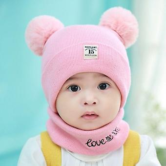Baby Hat Spring Autumn Winter Warm Wool Neck Wrap's Thickened
