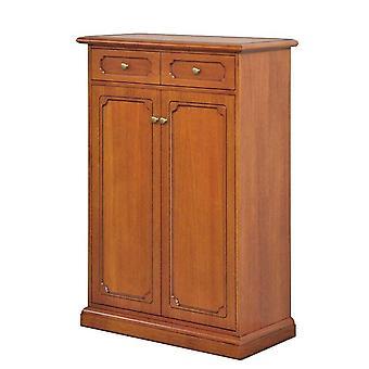 Wooden shoe rack 5 adjustable shelves 'Tilly';