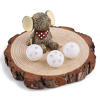 Squeaker Plastic Rattle Ball, Rattle Beads Noise Maker Nursing Baby Sound