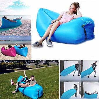 Sofa gonflable imperméable à l'eau Portable Outdoor Beach Bed Sleeping Bag Oxford