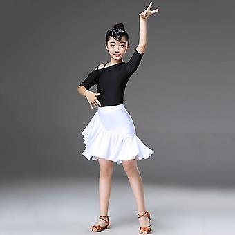 Tyttöjen latinalainen tanssimekko, Fringe Gatsby Tassel Tango Hame