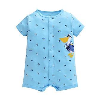 Baby Cotton Romper , Bird Design