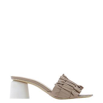 Halmanera Bea33naturale Women's Beige Leather Sandals