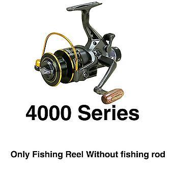 صيد الأسماك بكرة مزدوجة الفرامل الأمامية والكارب السحب الخلفي