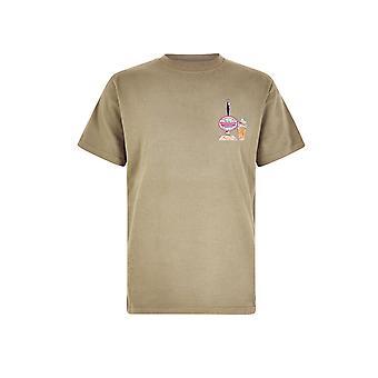 Flounders Bitter Organic Cotton Artist T-Shirt True Blue