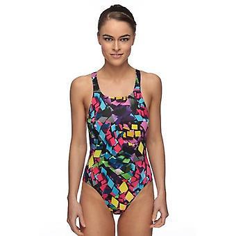 Maru Neon Diamond Pacer Womens Swim Suit - Vault Back