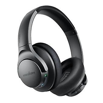 LANGATTOMAT ANKER Q20 -kuulokkeet - Langattomat Bluetooth 5.0 -kuulokkeet Stereo Studio Musta