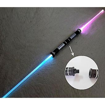 2-en-1 Laser Lightsaber-sword Toy With Light And Music