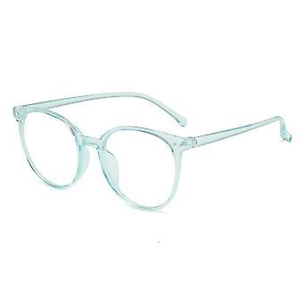 Trending Office Blue Light Blocking Oversized Round Glasses
