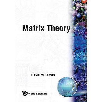 David Lewisin matriisiteoria - 9789810239060 Kirja