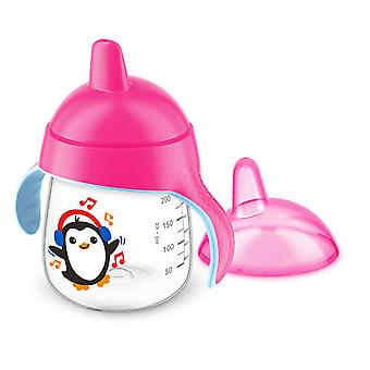 Avent Magic Mug Pink Antidrip