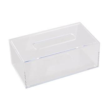 Transparent Acrylic Decor Tissue/Paper Box Cover 22.6 x 12.5 x 8.4cm