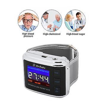 Diabète lllt thérapie au laser regarder l'hypertension artérielle ma-rudra 10 trous montre-bracelet laser froid