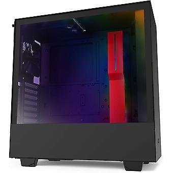 Wokex H510i - Kompaktes ATX-Mid-Tower-Gehuse fr Gaming-PCs - Front USB-C Port - Vertikale GPU