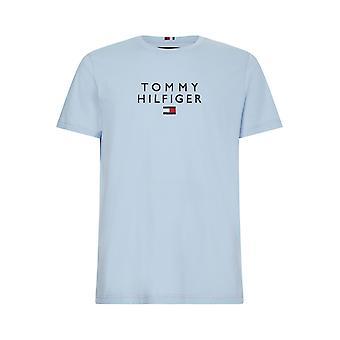 Tommy Hilfiger Staplad T-shirt Sweet Blue