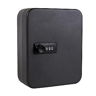 Password Wall Mounted Storage Cabinet Resettable Code Key Safe Box