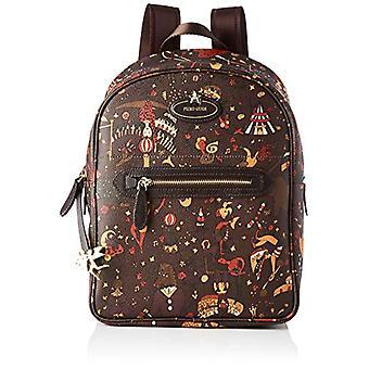 piero guidi Back Pack, Women's Backpack Bag, Brown (Mud), 24x31.5x12.5 cm (W x H x L)