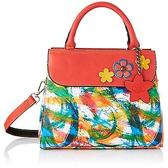 Laura Vita 4129, Shoulder strap, Bag with Handle. Woman, Red, Medium